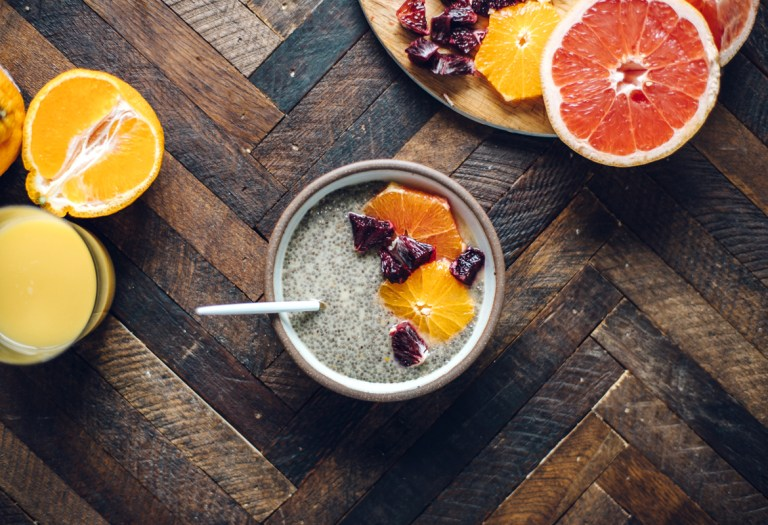 Orange Creamsicle Chia Seed Pudding | Brewing Happiness