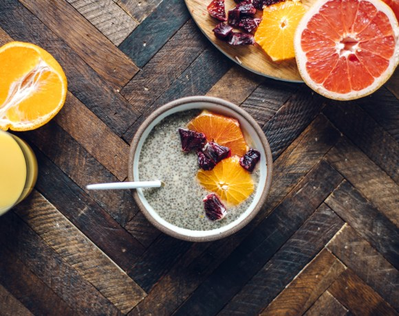 Orange Creamsicle Chia Seed Pudding   Brewing Happiness