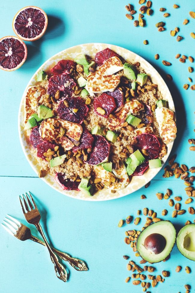 healthy and fresh cous cous salad   @brewinghappiness