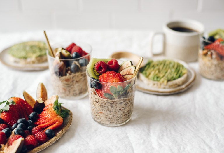 Nut and Seed Overnight Porridge | Brewing Happiness