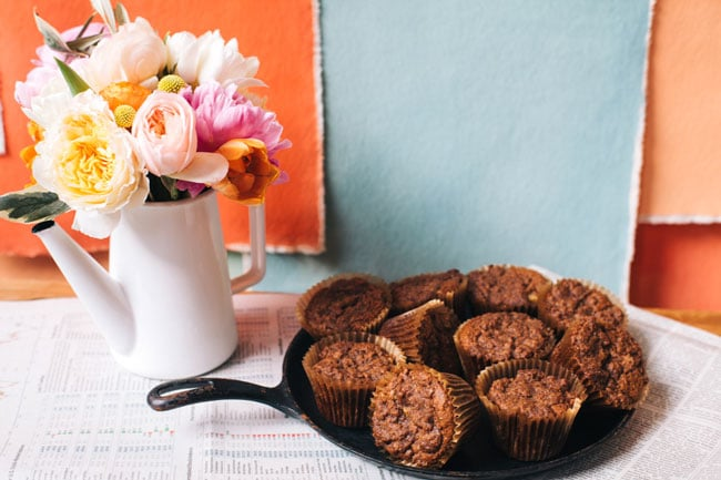 chai spiced muffin
