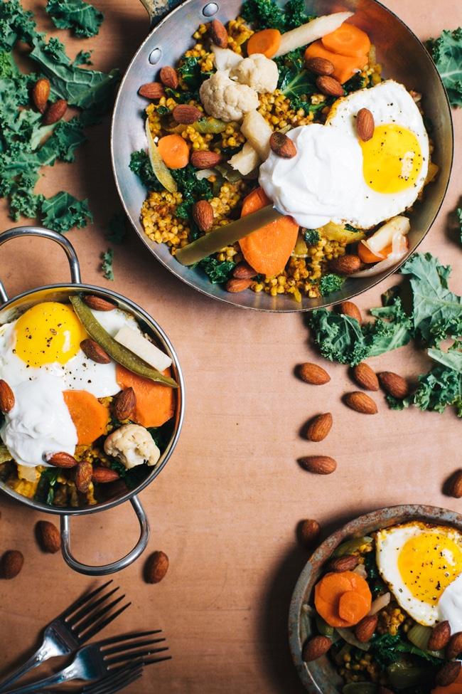 customizable nourishing buckwheat bowl