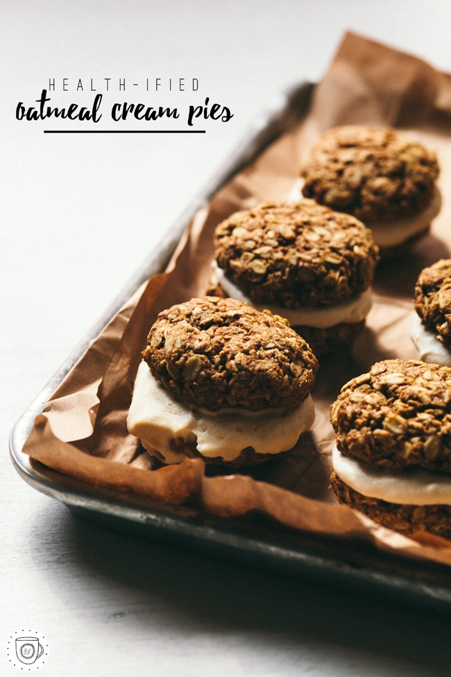 healthy oatmeal cream pies
