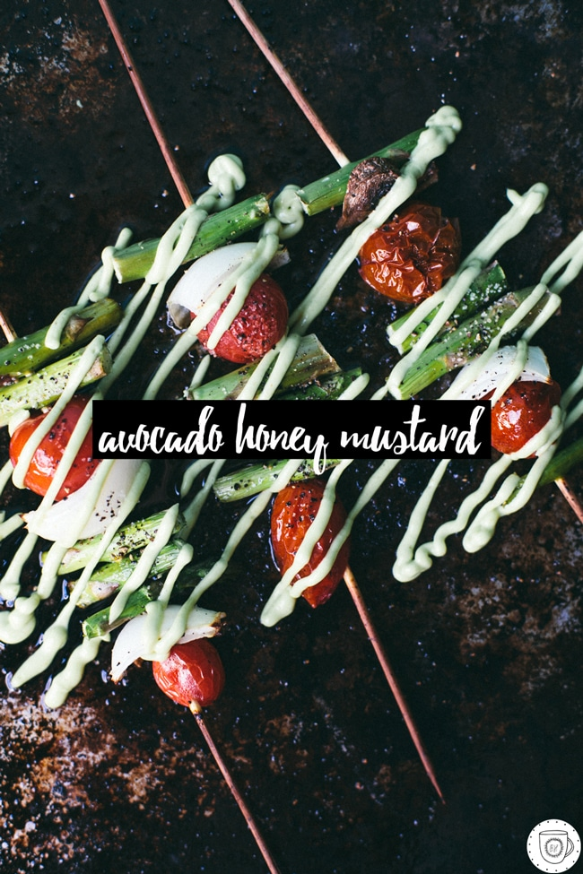 a great sauce for salad, skewers, sandwiches, etc