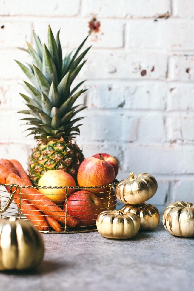 Pumpkin Spice Juice Cooler | Brewing Happiness