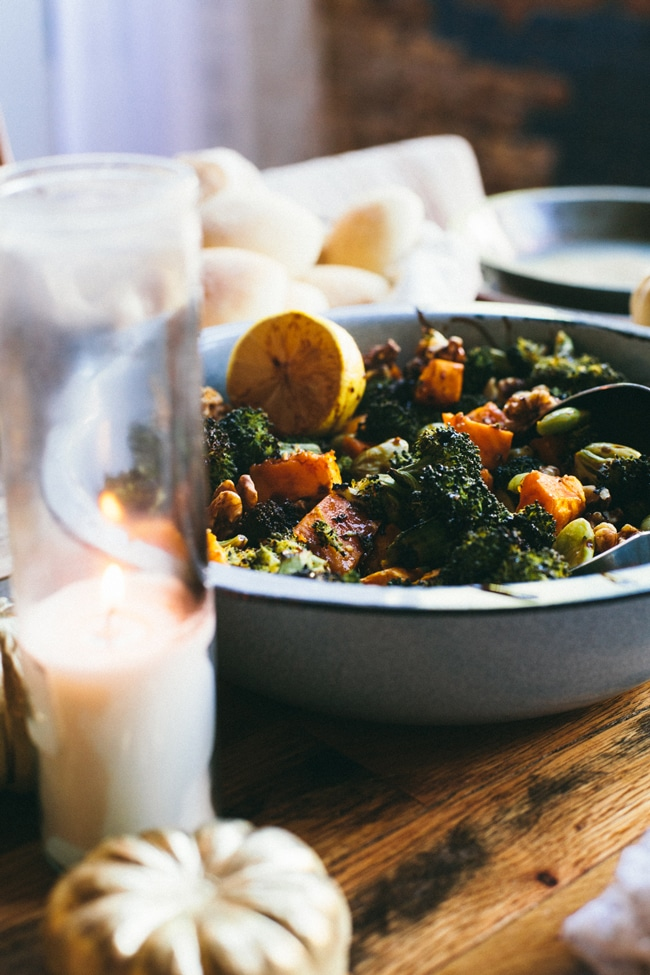 Balsamic Broccoli Thanksgiving Salad | Thanksgiving Thursday