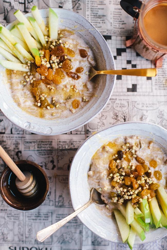 how to make porridge breakfast
