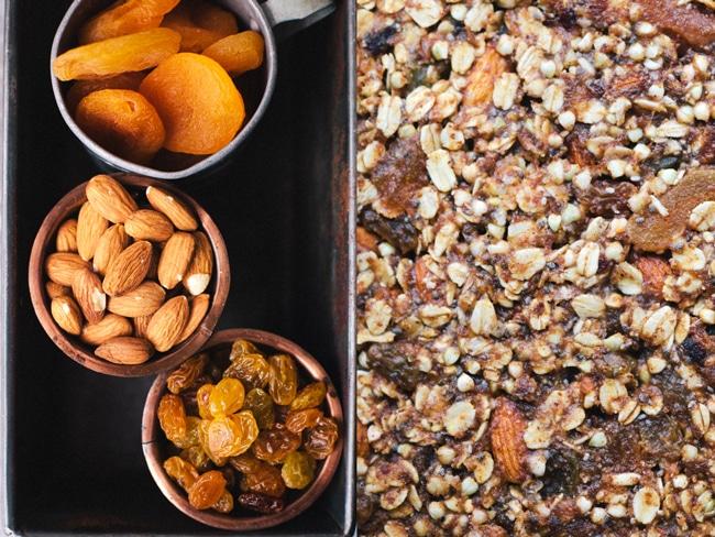 Apricot Almond Buckwheat Energy Bars | Brewing Happiness