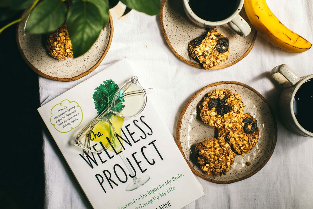 Cherry Oatmeal Breakfast Cookies + The Wellness Project | Brewing Happiness