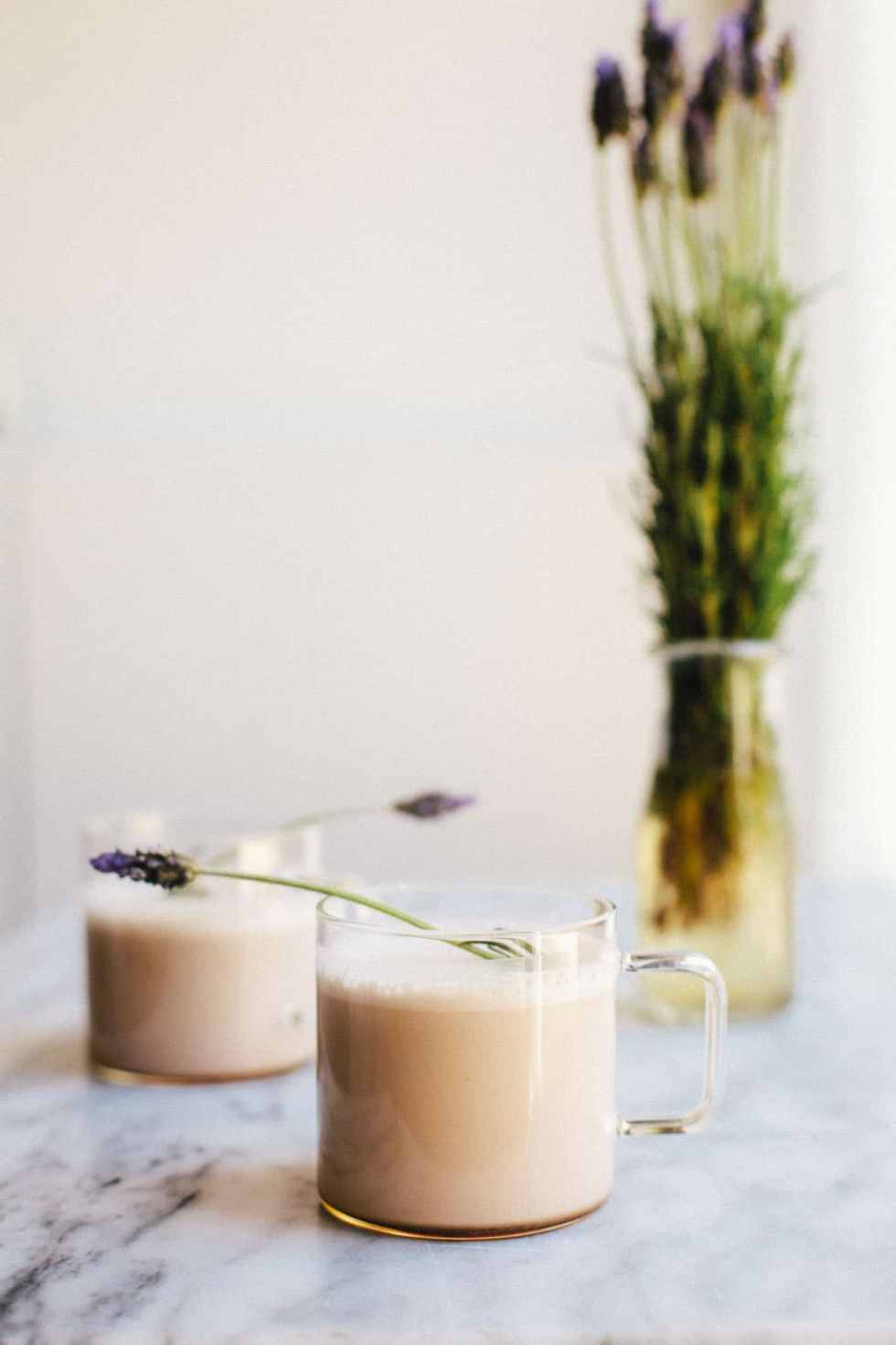 Lavender Moon Milk + #30screenlessnights RECAP | Brewing Happiness