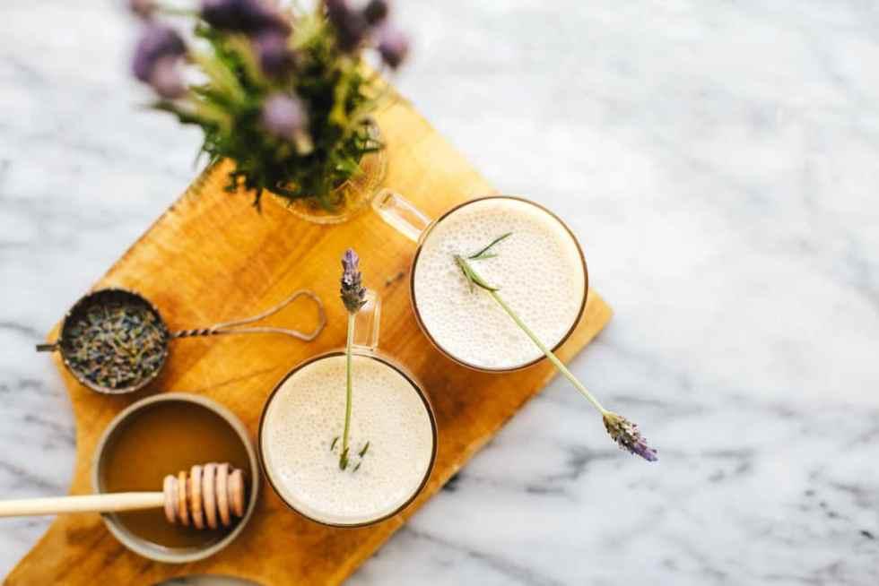 Lavender Moon Milk + #30screenlessnights RECAP   Brewing Happiness