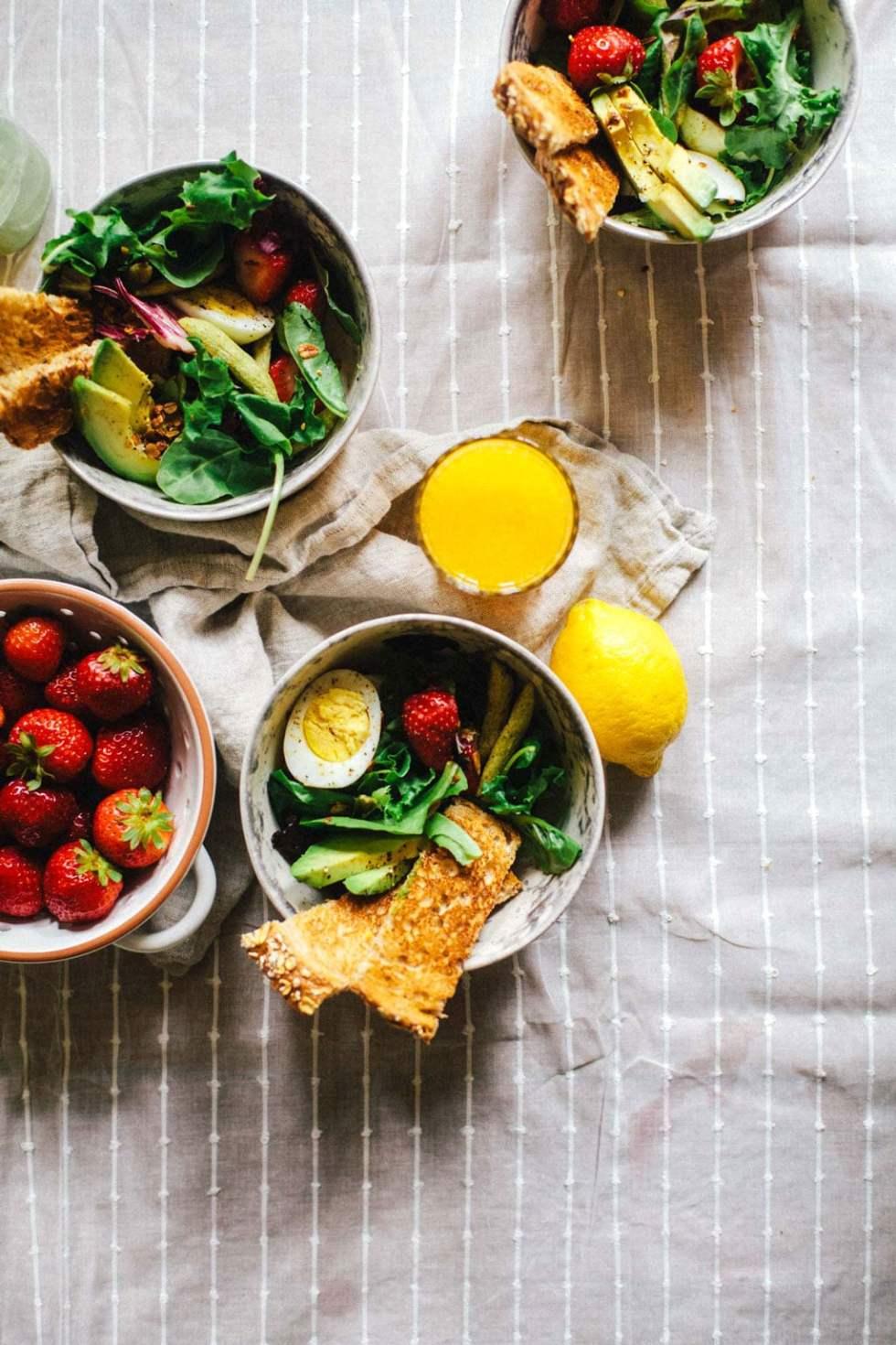 Green Goddess Breakfast Salad | Brewing Happiness