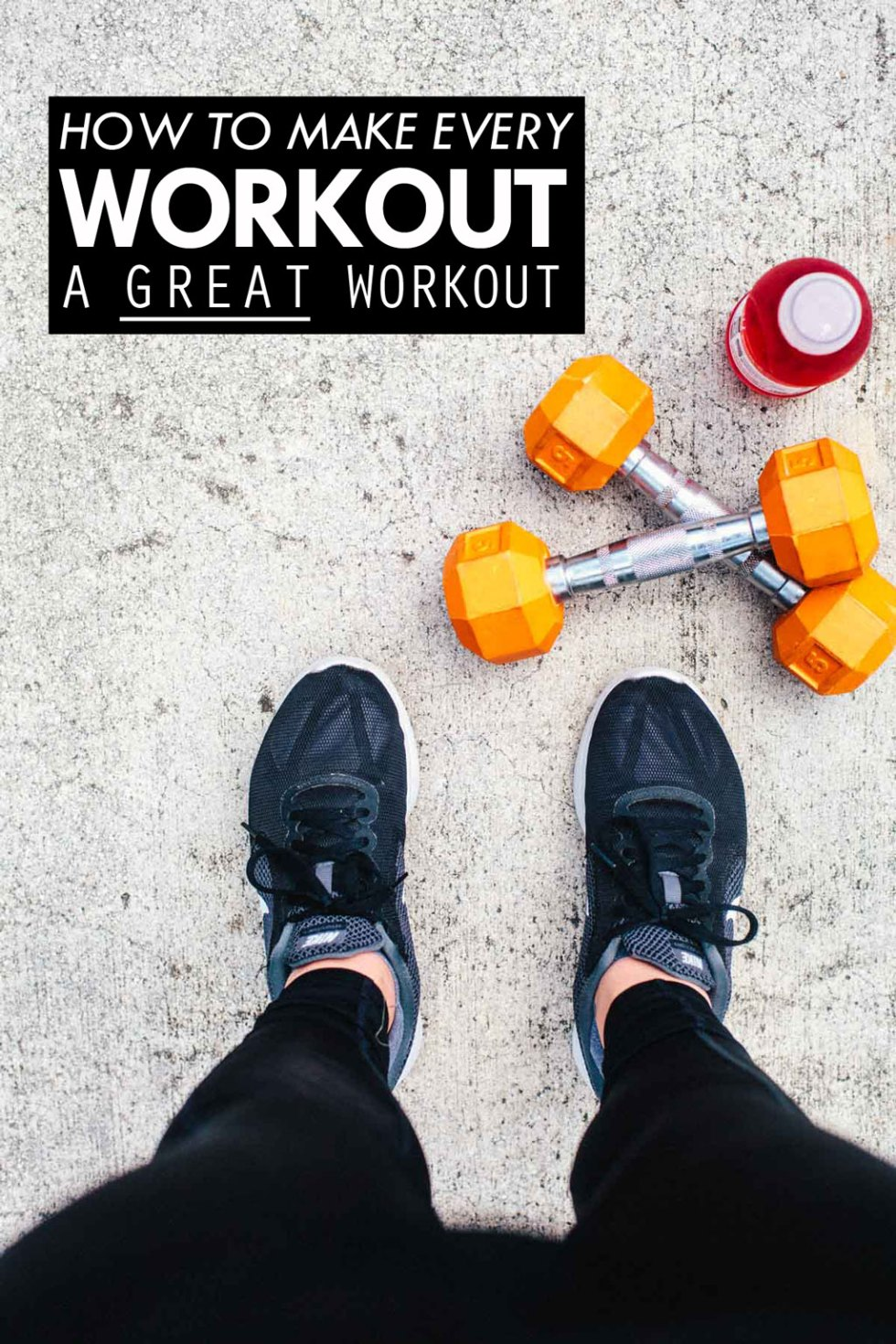 "The ""secret recipe"" for making every workout a GREAT workout."