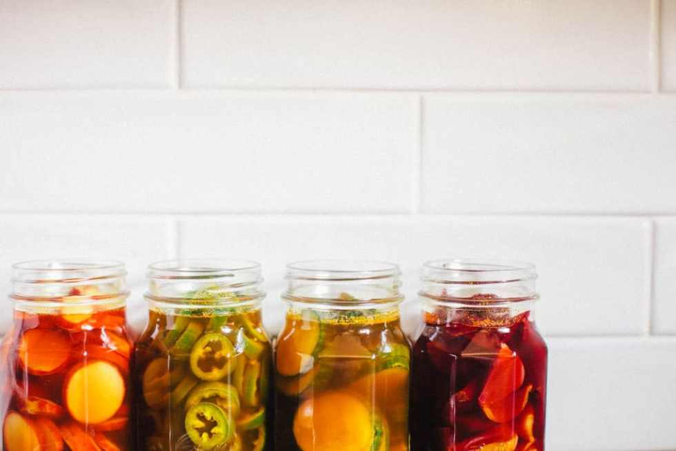 Sweet Turmeric Pickles | Brewing Happiness