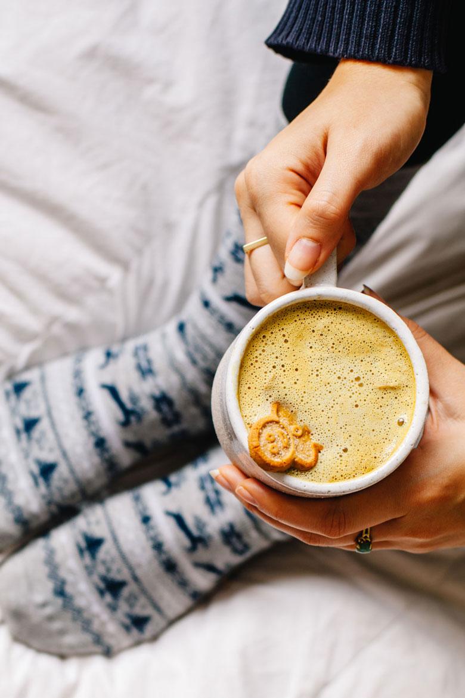 Gingerbread Turmeric Latte