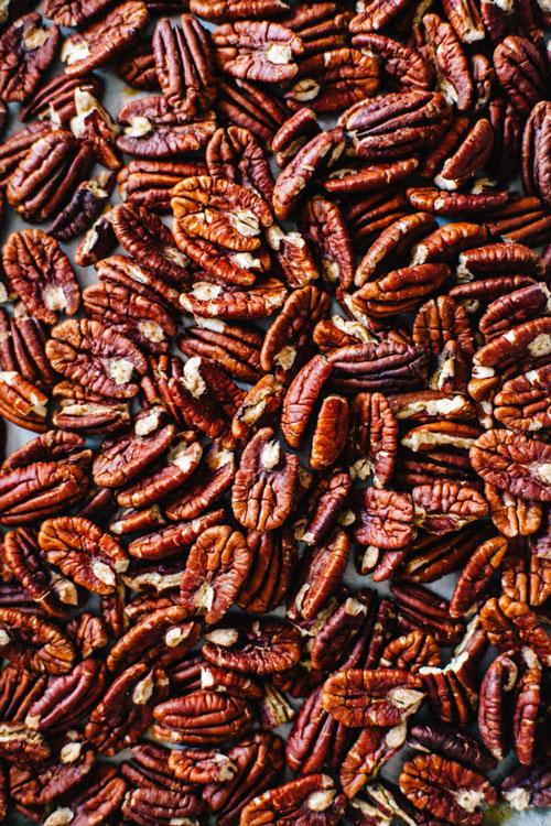 roasted pecans