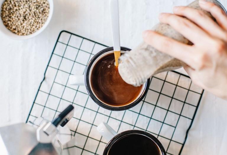 Cinnamon-Vanilla Toasted Hemp Coffee Creamer | Brewing Happiness