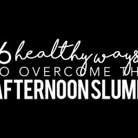 6 Healthy Ways to Beat the Afternoon Slump | Brewing Happiness