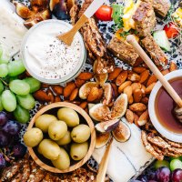 California Dreaming Cheese Board | Brewing Happiness