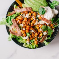 Chickpea Corn Fiesta Salad