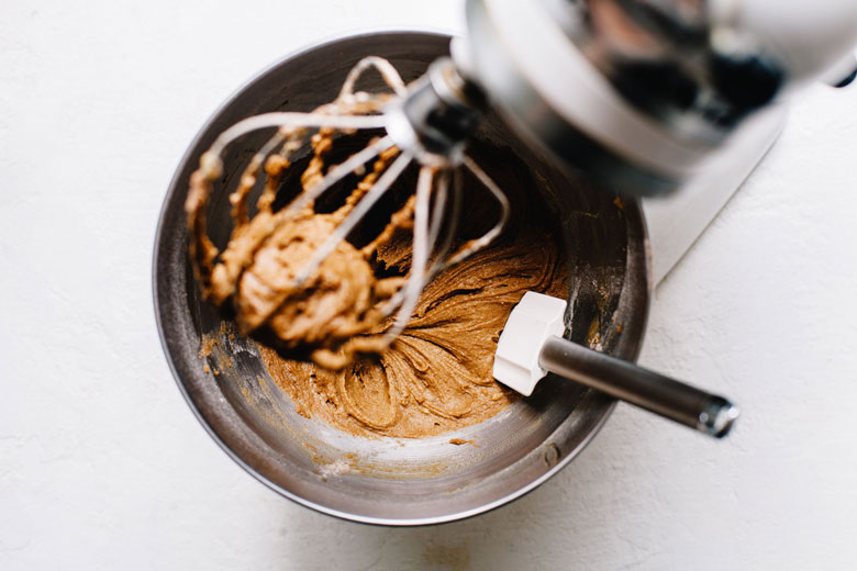 teff flour cookie batter