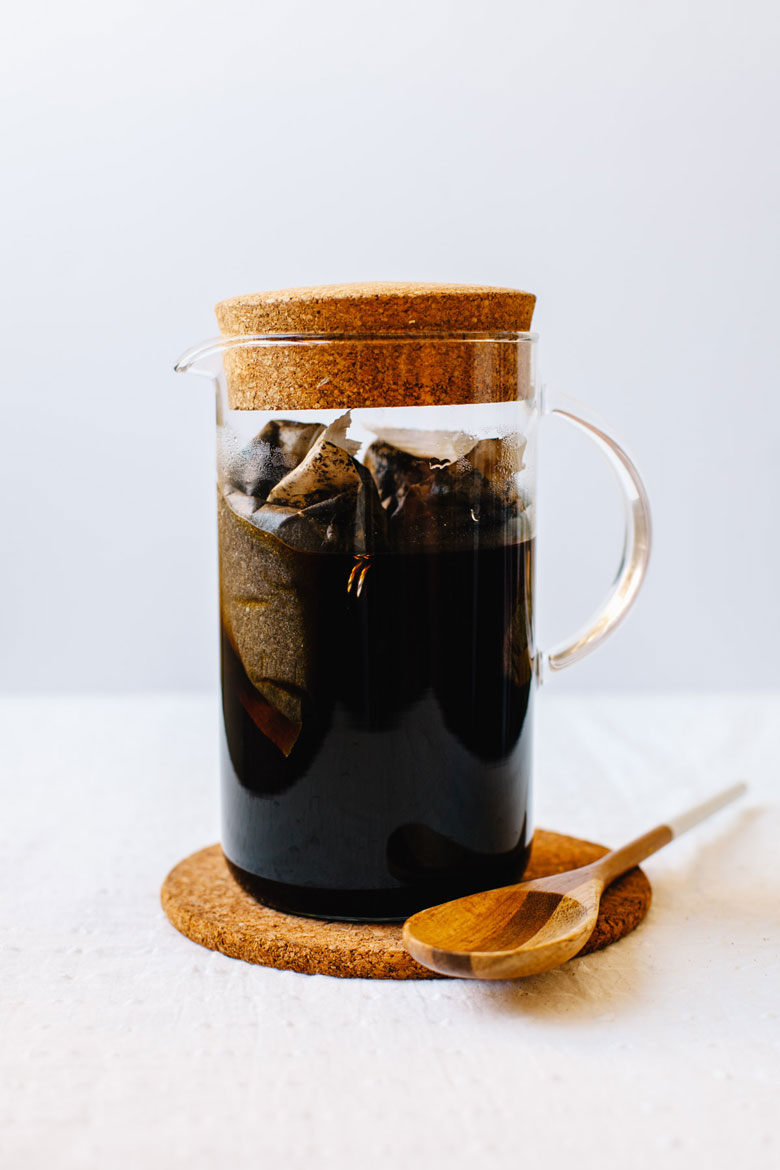 a pitcher of cold brew