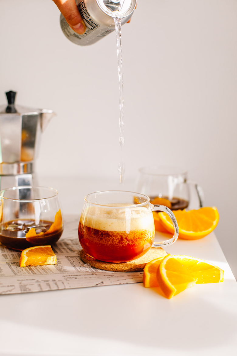 Citrus Espresso Tonic | Brewing Happiness