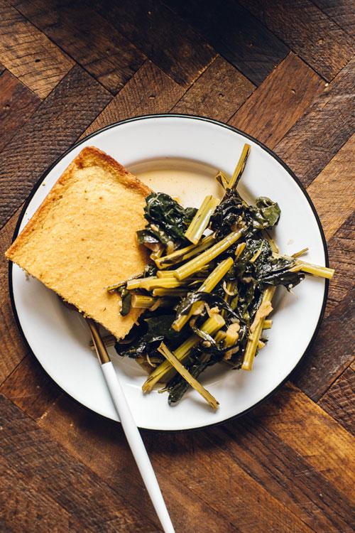 southern style kale