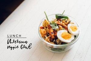 Lunch Moroccan Veggie Bowl
