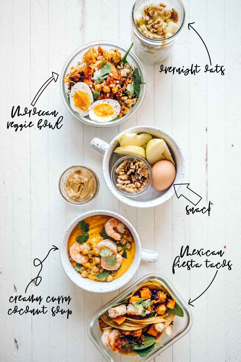 Adaptable Winter Meal Prep Guide for every diet | Brewing Happiness