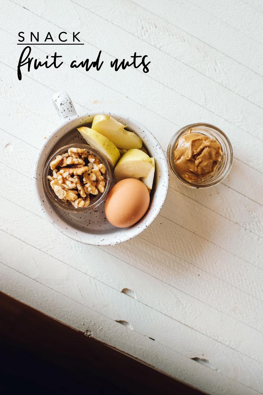 Easy meal prep snack