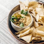 Sunflower Seed Queso Dip | Brewing Happiness