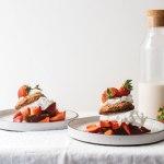 Grain-Free Strawberry Shortcake   Brewing Happiness