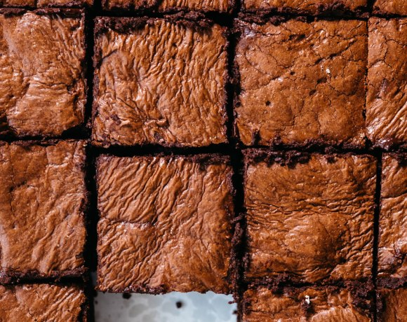 Fudgy Grain Free Brownies | Brewing Happiness