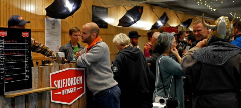 Commercial farmhouse ales at the Norsk Kornølfestival
