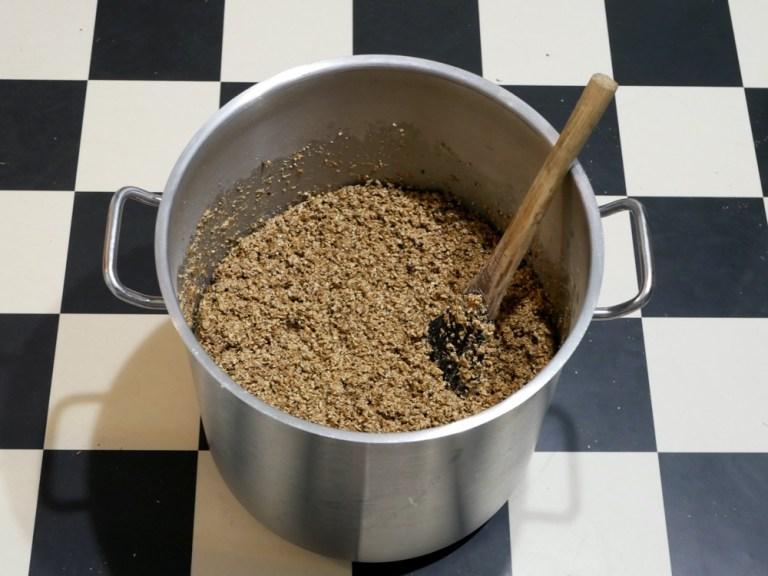 Doing beta-glucan mash rest with rye malt