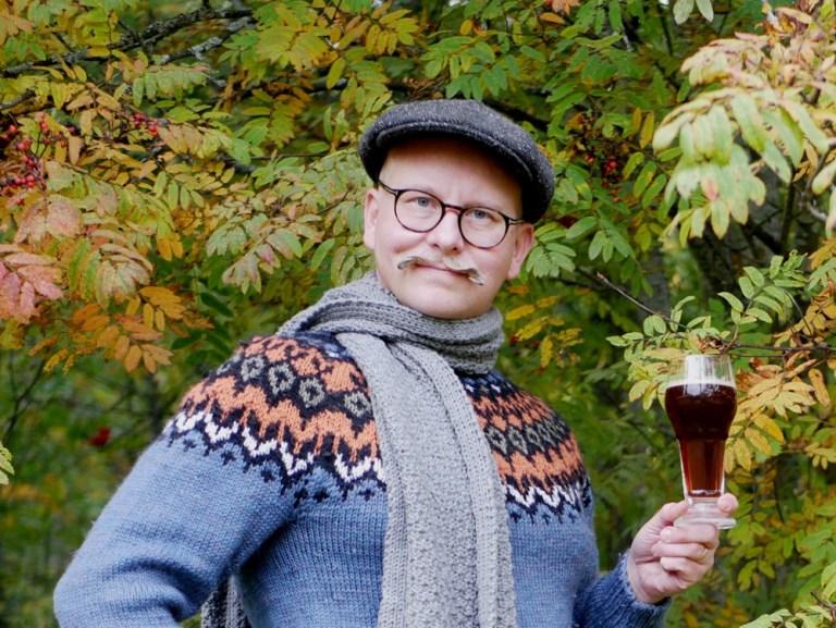 Evaluating beer brewed with Ryenator rye bock recipe