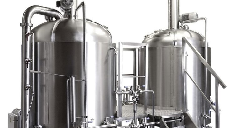 3 vessel brewhouse stainless