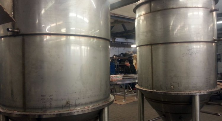 sweden microbrewery 20 HL CCT fermenting tanks