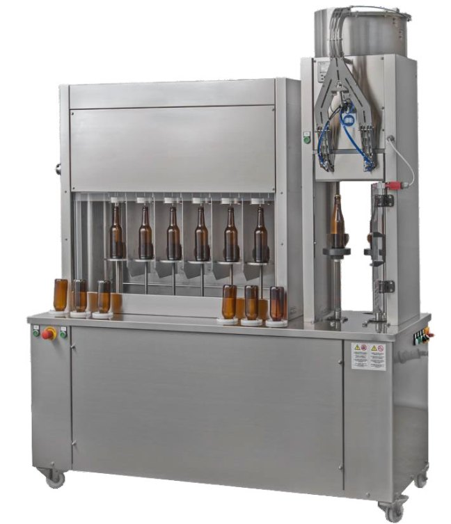 small bottle filling unit