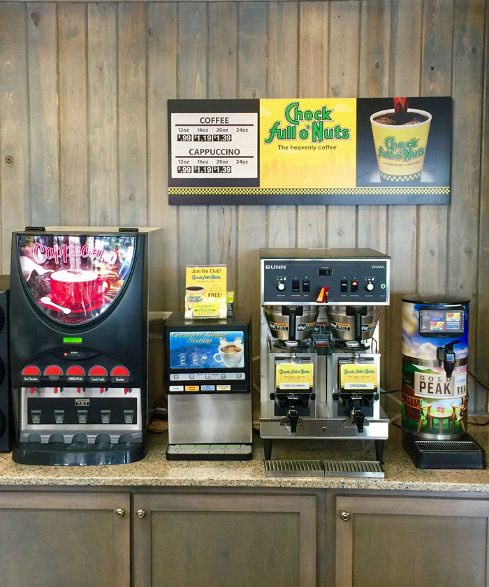 Chock Full o'Nuts coffee services