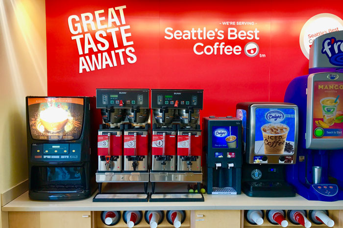 C-Store Seattle's Best Coffee Service