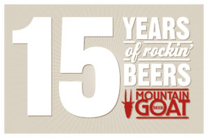 15 Years of Rocking Beer poster