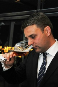 Photo of Tully Hadley drinking 2012 Crown Ambassador