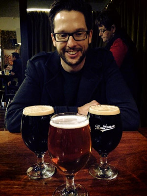 New Brews News editor, James Atkinson