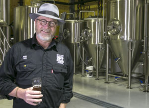 Blizzard Brewery's Mark Hubbard - Photo by Charlie Brown