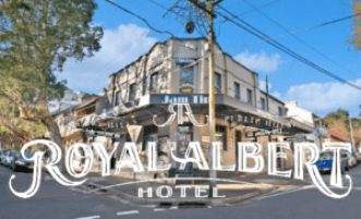 The Royal Albert in Surry Hills