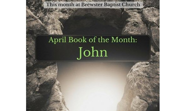 Bible Book of the Month: John