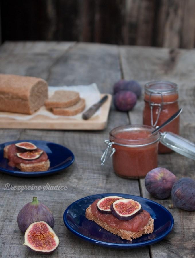 Figova marmelada brez sladkorja