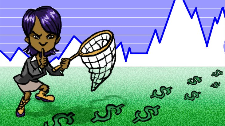 """Spot illustration: """"How to Start Tracking Your Investments with Personal Capital"""""""